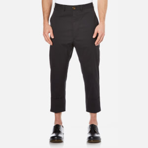 Vivienne Westwood MAN Men's James Bond Cropped Trousers - Black