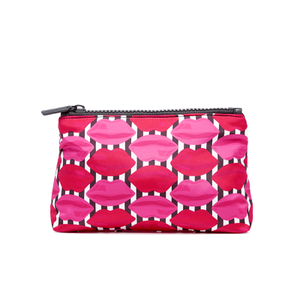 Lulu Guinness Women's Lips T-Seam Cosmetic Case - Multi