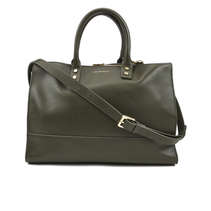 Lulu Guinness Women's Daphne Medium Smooth Leather Tote - Dark Sage