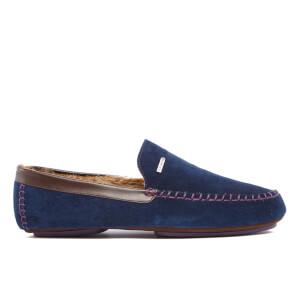 Ted Baker Men's Moriss Suede Moccasin Slippers - Dark Blue
