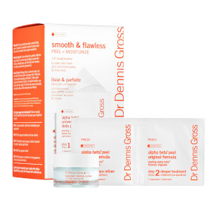 Dr Dennis Gross Smooth and Flawless Peel and Moisturize Kit with Hyaluronic Moisture Cushion