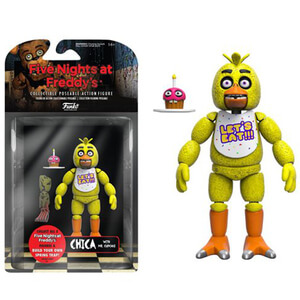 Five Nights At Freddy's Chica 5 Inch Action Figura
