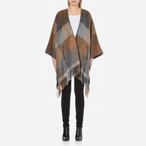 BOSS Orange Women's Ofringy Wrap Cape - Multi