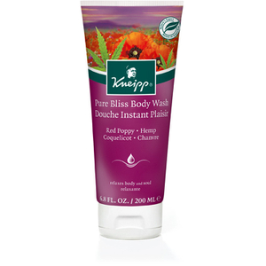 Kneipp Pure Bliss Roter Mohn und Hanf Body Wash (200 ml)