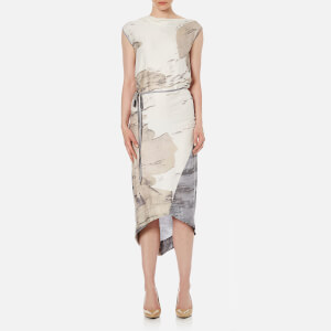 Vivienne Westwood Anglomania Women's Ray Tie Dress - Natural