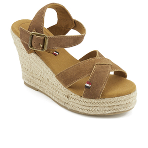 Superdry Women's Isabella Wedged Espadrilles - Tan: Image 2