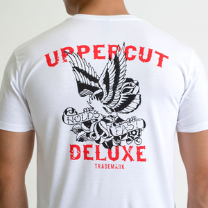 Uppercut Deluxe Men's Eagle T-Shirt - White