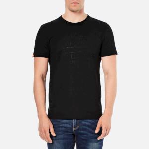 Superdry Men's Vintage Logo Emboss T-Shirt - Black