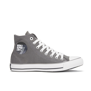 Superdry Men's Retro Sport High Top Trainers - Battleship Grey