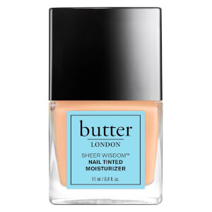 Sheer Wisdom Nail Tinted Moisturiser de butter LONDON 11ml - Léger