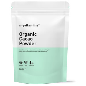 Organic Cacao Powder (250g) (Myvitamins)