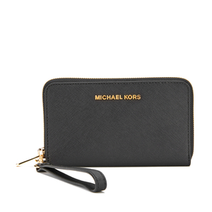 MICHAEL MICHAEL KORS Jet Set Travel Phone Purse - Black