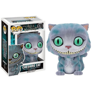 Alice In Wonderland Flocked Cheshire Cat Pop! Vinyl Figure