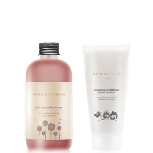 Grow Gorgeous Hair Density siero and Cleansing Balsamo Colour Protect
