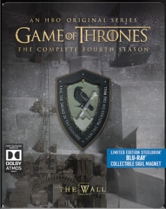 Game Of Thrones - Complete Fourth Season Limited Edition Steelbook (UK EDITION)