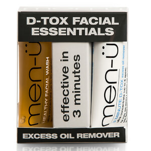 men-ü D-Tox Facial Essentials -kasvohoitosetti (15ml)