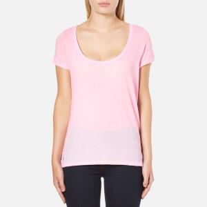 Polo Ralph Lauren Women's Scoop Neck T-Shirt - Pink Tailor Rose