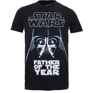 "Camiseta Star Wars ""Father Of The Year"" - Hombre - Negro"