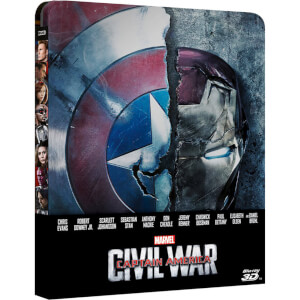 Captain America: Civil War 3D (Includes 2D Version) - Zavvi UK Exclusive Limited Edition Steelbook (UK EDITION)