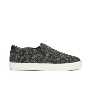 Ash Women's Impuls Knitted Slip-On Trainers - Black Fiesta/Black