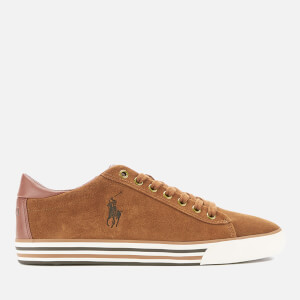 Polo Ralph Lauren Men's Harvey Suede Low Top Trainers - New Snuff