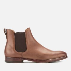 Polo Ralph Lauren Men's Dillian Leather Chelsea Boots - Polo Tan