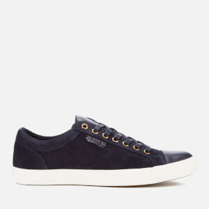 Polo Ralph Lauren Men's Geffrey Suede/Leather Trainers - Navy/Newport Navy