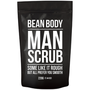 Bean Body Coffee Bean Scrub 220 g - Man Scrub