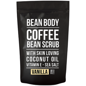Bean Body Coffee Bean Scrub 220 g – Vanilla