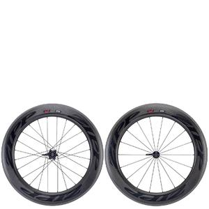 Zipp 808 Firecrest Carbon Clincher Disc Brake Wheelset - Shimano/SRAM