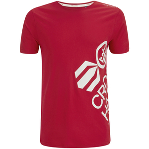 Crosshatch Men's Nazmin Graphic T-Shirt - Barbados Cherry