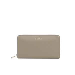Furla Women's Babylon XL Zip Around Purse - Taupe