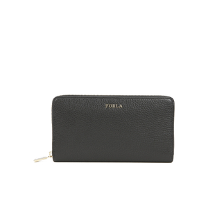 Furla Women's Babylon XL Zip Around Purse - Black