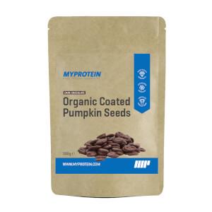 Organic Coated Pumpkin Seeds - Dark Chocolate - 300g