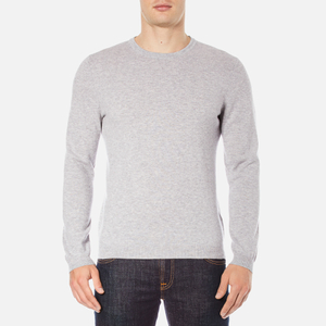 BOSS Green Men's C-Cecil Crew Neck Jumper - Grey