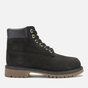 Timberland Kids' 6 Inch Premium Waterproof Boots - Black