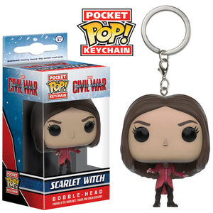 Captain America: Civil War Scarlet Witch Pocket Pop! Sleutelhanger
