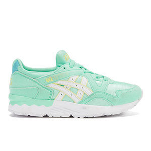 Asics Kids' Gel-Lyte V PS Trainers - Light Mint/White