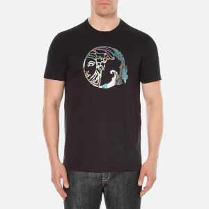 Versace Collection Men's Medusa Printed T-Shirt - Black