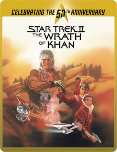 Star Trek 2 - The Wrath Of Khan Directors Cut (Limited Edition 50th Anniversary Steelbook) (UK EDITION)