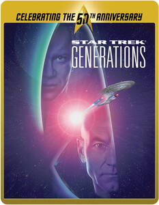 Star Trek 7 - Generations (Limited Edition 50th Anniversary Steelbook) (UK EDITION)