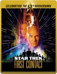 Star Trek 8 - First Contact (Limited Edition 50th Anniversary Steelbook) (UK EDITION)