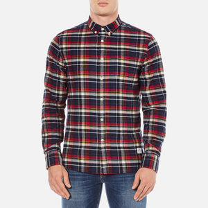 Penfield Men's Barrhead Check Shirt - Red