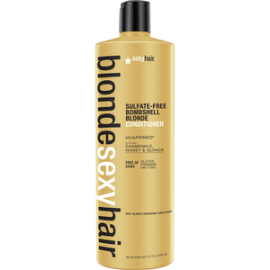 Sexy Hair Blonde Bombshell Blonde -hoitoaine 1000ml