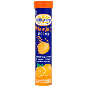 Haliborange Vitamin C Effervescent Tablets 1000mg - 20 Orange Flavour Tablets