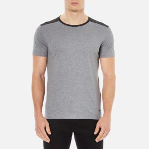 BOSS Orange Men's Trike Shoulder Detail T-Shirt - Grey