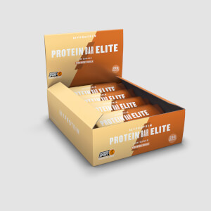 Pro Bar Elite, Toffee Vanilla, 12 x 70g