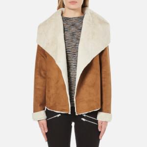 Vero Moda Women's Janice Short Jacket - Cognac