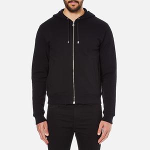Versus Versace Men's Large Reverse Logo Hoody - Black