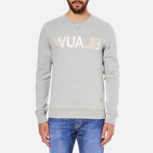 Scotch & Soda Men's Blauw Sweatshirt - Grey